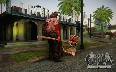 Carrasco (Resident Evil 5) para GTA San Andreas segunda tela