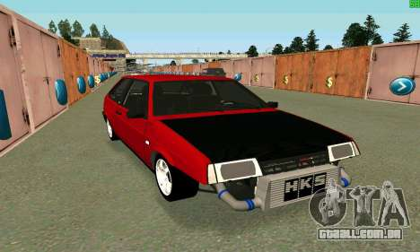 VAZ 2108 Turbo para GTA San Andreas