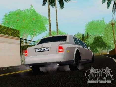 Rolls-Royce Phantom Limo para GTA San Andreas vista direita