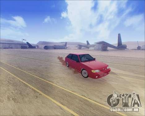 VAZ 2112 Tuneable para GTA San Andreas esquerda vista