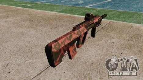 Автомат Steyr AUG-A3 Óptica Red tiger para GTA 4 segundo screenshot