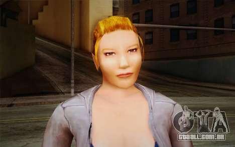Woman Autoracer from FlatOut v2 para GTA San Andreas terceira tela