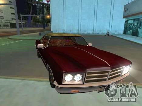 Yardie Lobo from GTA 3 para GTA San Andreas vista interior