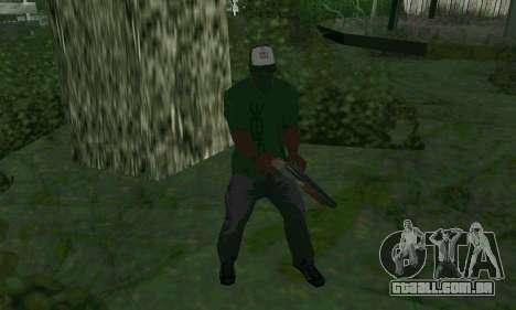 Novos recursos de armas para GTA San Andreas terceira tela