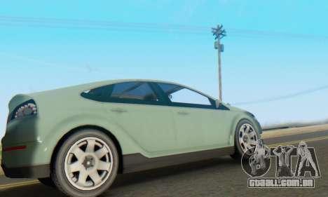 Cheval Surge V1.0 para GTA San Andreas vista traseira