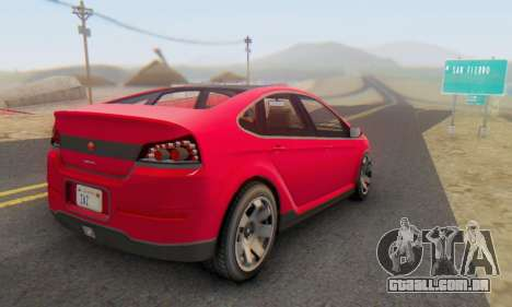 Cheval Surge V1.0 para GTA San Andreas esquerda vista