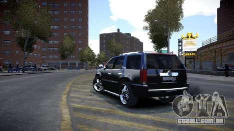 Cadillac Escalade para GTA 4 vista direita