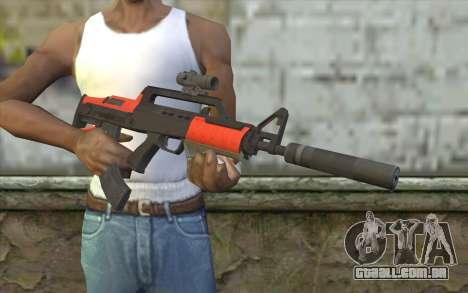 Rifle BullPup из GTA 5 para GTA San Andreas terceira tela