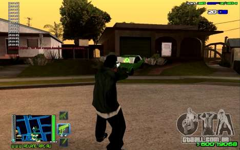 C-HUD Optimal para GTA San Andreas segunda tela