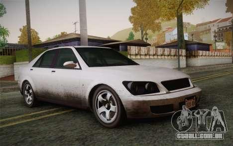 Sultan из GTA 5 para GTA San Andreas