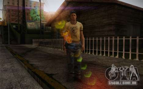 Ellis from Left 4 Dead 2 para GTA San Andreas