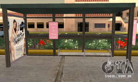 Nova parada de ônibus para GTA San Andreas segunda tela