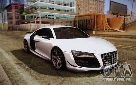 Audi R8 GT 2012 para GTA San Andreas