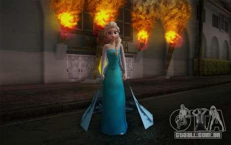 Frozen Elsa para GTA San Andreas