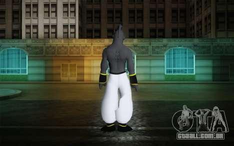 Dark Buu para GTA San Andreas segunda tela