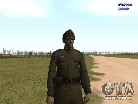 USSR Soldier Pack para GTA San Andreas sétima tela