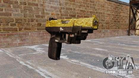 Arma FN Cinco sete de Ouro LAM para GTA 4