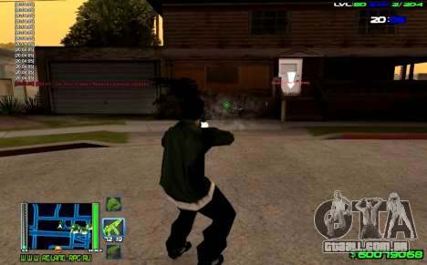 C-HUD Optimal para GTA San Andreas terceira tela