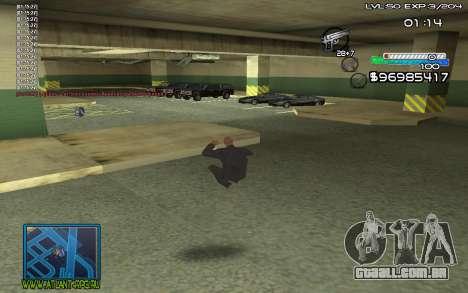 С-HUD por steelman deve para GTA San Andreas segunda tela