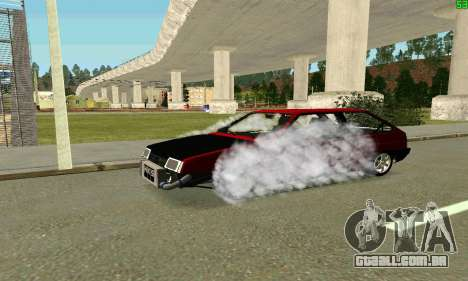 VAZ 2108 Turbo para o motor de GTA San Andreas