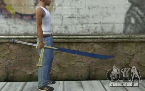 One Piece Black Sword para GTA San Andreas terceira tela