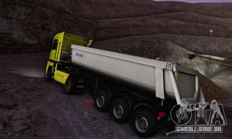 Schmied Bigcargo Solid Stock para GTA San Andreas vista direita