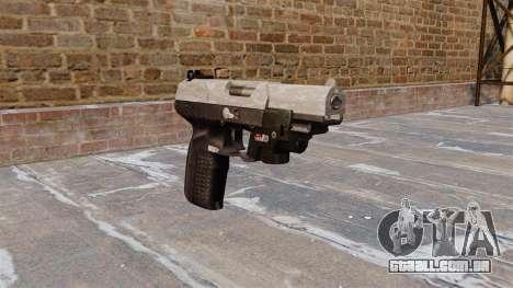 Arma FN Cinco sete LAM ACU Camo para GTA 4
