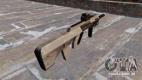 Lavar o Steyr AUG-A3 ACU Camuflagem para GTA 4 segundo screenshot