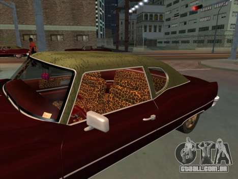 Yardie Lobo from GTA 3 para GTA San Andreas vista direita