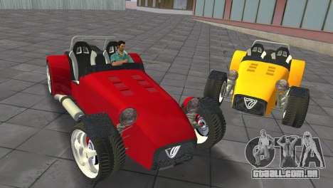 Caterham Super Seven para GTA Vice City
