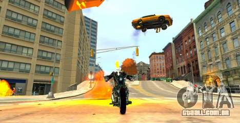 Ghost Rider para GTA 4 segundo screenshot