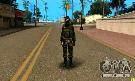 Fighter Alpha Antiterror para GTA San Andreas