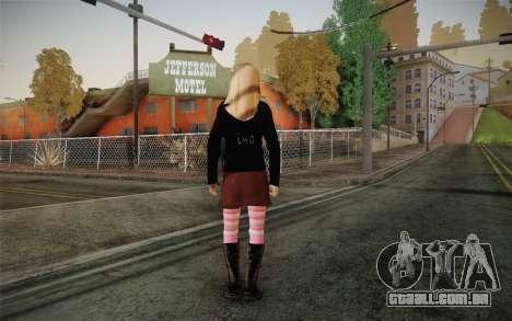 Avril Lavigne para GTA San Andreas segunda tela