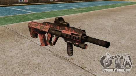 Автомат Steyr AUG-A3 Óptica Red tiger para GTA 4