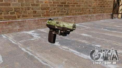 Arma FN Cinco sete LAM Verde Camo para GTA 4