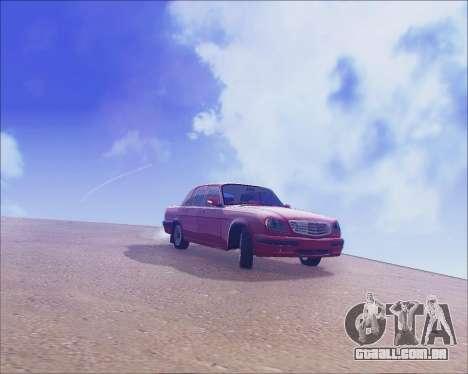 GAZ 31105 Tuneable para GTA San Andreas