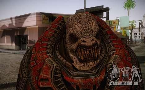 Theron Guard Cloth From Gears of War 3 v1 para GTA San Andreas terceira tela