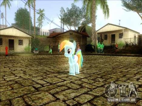 Rainbow Dash para GTA San Andreas