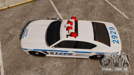 GTA V Bravado Buffalo LCPD para GTA 4 vista direita