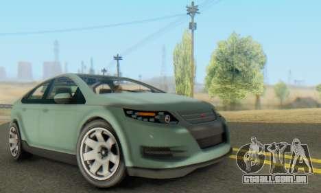 Cheval Surge V1.0 para GTA San Andreas vista interior