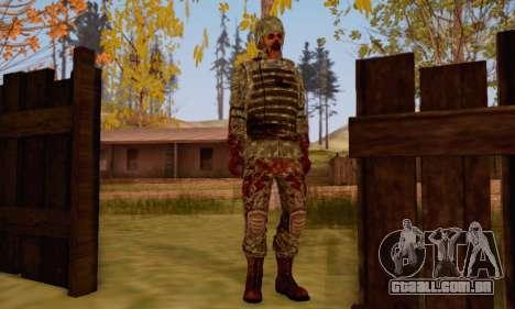 Zombie Soldier para GTA San Andreas