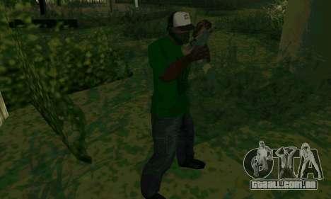 Novos recursos de armas para GTA San Andreas quinto tela