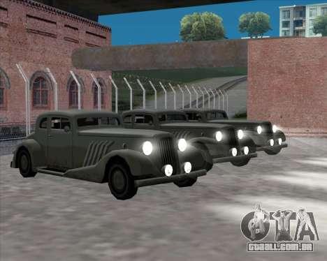 Carro Novo (Hustler) para GTA San Andreas vista direita