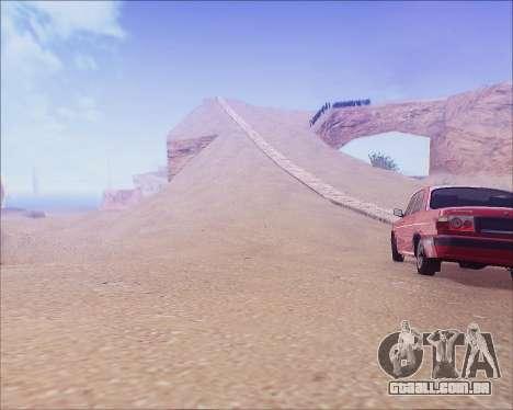 GAZ 31105 Tuneable para GTA San Andreas esquerda vista