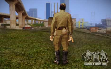 Soldados soviéticos para GTA San Andreas segunda tela