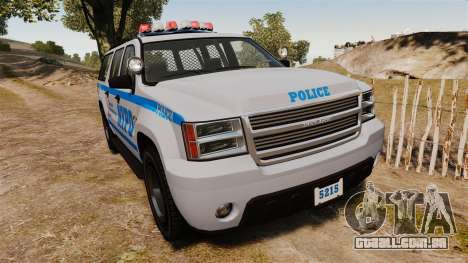 GTA V Declasse Granger NYPD para GTA 4