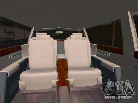 Rolls-Royce Phantom Limo para vista lateral GTA San Andreas