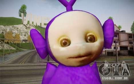 Chutes-Winky (Teletubbies) para GTA San Andreas terceira tela