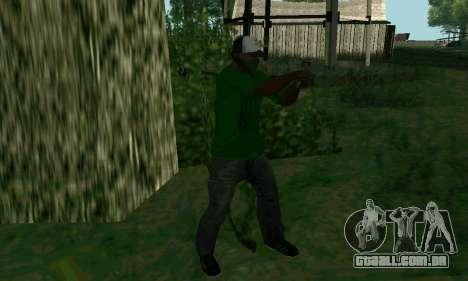 Novos recursos de armas para GTA San Andreas por diante tela