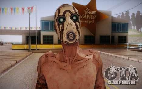 Gangster de Borderlands 2 para GTA San Andreas terceira tela